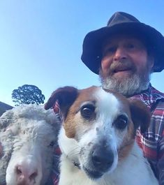 There's nothing cuter than old folks learning to use technology and giving it their best shot. This just recently happened to a sheep farmer in Walcha, Australia, who was introduced to the ubiquitous selfie by his daughter, and proceeded to have way too much fun with it.