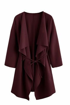 40 Pieces Of Clothing And Accessories On Amazon Our Readers Are Loving In 2018 Cardigans For Women, Coats For Women, Mantel Trenchcoat, Mode Abaya, Lingerie Fine, Vest Coat, Kimono Jacket, Wrap Coat, Belted Coat