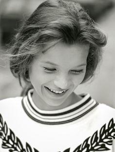 Kate Moss jeune, photos de son premier shooting | Vanity Fair