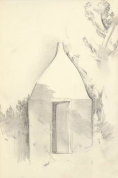 Untitled (Architectural Form) :: Drawings, Paintings & Sculpture