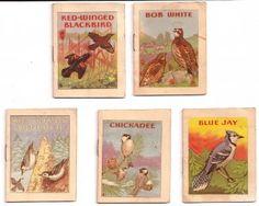 5 Mini 1941 John Eggers Bird Booklets ~ SOLD
