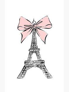 Chanel Wall Art, Chanel Art, Illustration Parisienne, Illustration Art, Fashion Illustration Chanel, Eiffel Tower Art, Eiffel Tower Tattoo, Paris Room Decor, Chanel Poster