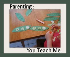 Sometimes you teach your children and sometimes your children teach you. #parenting #learning