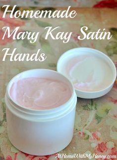 Homemade Mary Kay Satin Hands