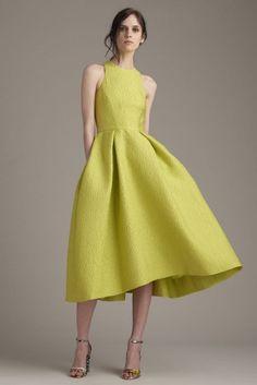 fa049f29b08a модные платья весна-лето 2016 Monique Lhuillier Monique Lhuillier, Модный  Показ, Модный Дизайн
