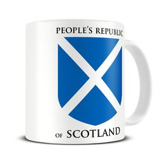 MG181 Magoo Peoples Republic of Scotland Mug – funny scottish gift