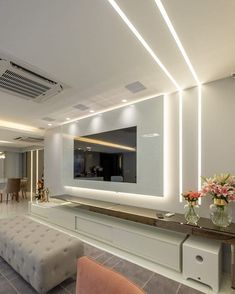 Home Decoration Sale Clearance Living Room Tv Unit Designs, Ceiling Design Living Room, Tv Wall Design, Home Room Design, Home Decor Bedroom, Living Room Decor, Tv Wanddekor, Lcd Panel Design, Luxurious Bedrooms