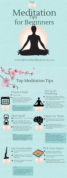 Meditation Tips for Beginners | Create a healthy lifestyle with mindful thinking and healthy living #yoga