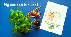I vostri bambini hanno colorato la foglia di #stevia fuori dai bordi? Ancora meglio, #MisuraStevia premia la fantasia e la dolcezza con #mycouponissweet http://www.misurastevia.it/page/my-coupon-is-sweet