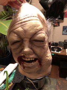 Beard Walker Mask Walking Dead Zombie Fancy Dress Halloween Costume Accessory