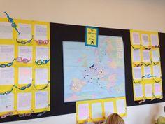 Vakantieverhaal. Laat de leerlingen een vakantieverhaal schrijven. Via de zonnebril kunnen ze laten zien wat ze hebben gezien! Laat het ook nog zien op de kaart.