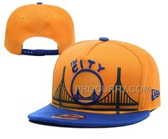 27a0d15c08eb6 Warriors Team Logo Gold Adjustable Hat YD New