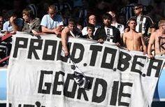 Proud to be a Geordie-- aka Geordie Longstaff Salomon Dye, born 1987 Blaydon Races, Newcastle United Football, Bobby Charlton, We Happy Few, North Shields, North East England, Band Of Brothers, Coal Mining, Cool Countries