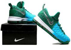 e3af336bb934 Nike Zoom KD 9 Lmtd EP Mens Basketball shoes Peacock blue Nike Kd Shoes