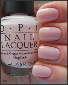 perfect shape of nails and i love this nail polish its called privacy please