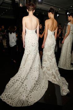 Naeem Khan Wedding Dresses Fall 2014 First Look