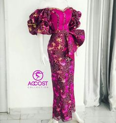 African Prom Dresses, Latest African Fashion Dresses, African Dresses For Women, African Print Fashion, African Wedding Attire, African Attire, African Lace Styles, Ankara Styles, Nigerian Dress Styles