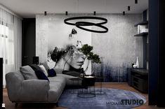 GRANATOWY SALON - zdjęcie od MIKOŁAJSKAstudio - Salon - Styl Minimalistyczny - MIKOŁAJSKAstudio