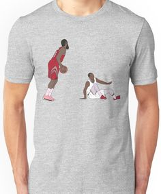 1a25023895fb James Harden Crossover On Wesley Johnson Unisex T-Shirt