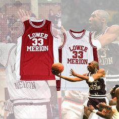 Kobe Bryant  33 Lower Merion High School Basketball Jersey 12c347584