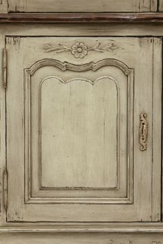French Country Hutch.  Love this glazed finish for the kitchen.