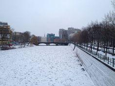 Winter wonderland in Berlin