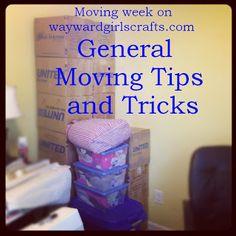 Moving Tips and Tricks | Wayward Girls Crafts