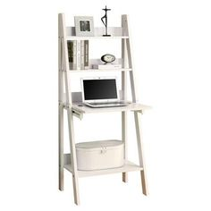Monarch Specialties Inc. Ladder 61'' Bookcase - Walmart.com
