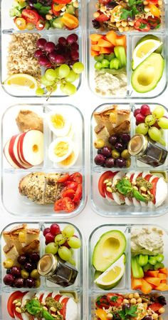 5 Healthy Lunch Box Ideas for everyone! These make-ahead lunch recipes are perfect for a work lunch and great as real food on the go. Healthy Lunches For Work, Make Ahead Lunches, Healthy Meal Prep, Healthy Snacks, Healthy Recipes, Work Lunches, Detox Recipes, Easy School Lunches, Healthy Cookies