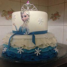 Bolo da Elsa (Frozen) 01/12/15