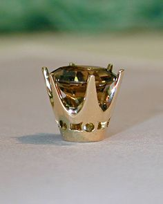 Jewelry Tutorial making a decorative Crown Collet