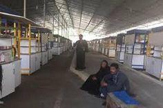 """انهيار """"باكيات"""" سوق أحمد حلمي للباعة الجائلين بعد أسبوع من إنشائها بتكلفة 22 مليون جنيه بسبب الجو -"""