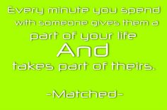 #Matched #Ally Condie
