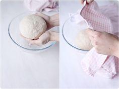 Faire son pain maison sans machine à pain - chefNini Best Bread Recipe, Bread Recipes, 20 Min, Bacon, Pains, Cooking, Pizza, Desserts, No Knead Bread