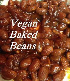 vegan baked beans in the crockpot