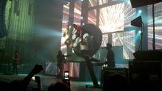 Newsboys drummer spinning