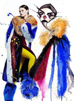 mode & peinture #mode #dessin #peinture #creation #tendance #myfashionlove www.myfashionlove.com