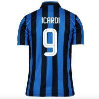 Inter Milan Home 2015-2016 Season Icardi #9 Soccer Jersey