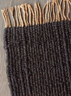 Nest Weave in Charcoal - with natural tassels Armadillo, Glamping, Jute, Color Splash, Nest, Weave, Tassels, Home Goods, Charcoal
