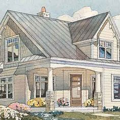 Brunswick Cottage < Top 25 House Plans - Coastal Living