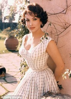 Sex symbol: Former actress Gina Lollobrigida was once dubbed 'the most beautiful woman in the world' after starring in a film of the same name