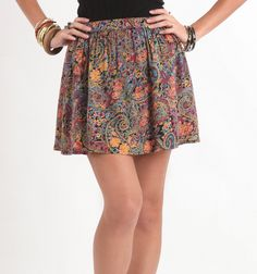 Need it.  Billabong Flounce Around Skirt - PacSun.com