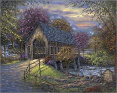 Purchase Robert Finale - Emert's Cove Covered Bridge at Gallery One