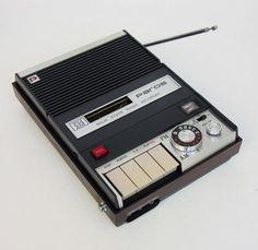Iconic Vintage Design Items: PAROS Radio Recorder