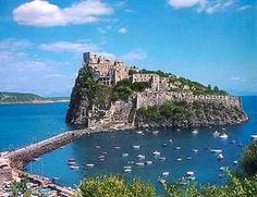 Ischia, Italy  April, 2009  Small, quaint, beautiful narrow winding streets w/wonderful flowers and their own winery.