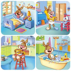 Nesquik Junior by Aleix Pons Oliver, via Behance