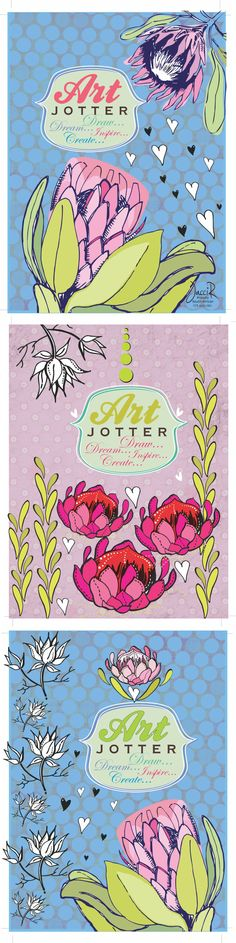 Pretty pastel protea's for a stationary series for JacciR Design Graphic Patterns, Print Patterns, Flower Graphic Design, Dream Drawing, Flower Sketches, Irish Dance, Pretty Pastel, Diy Shirt, Screen Printing