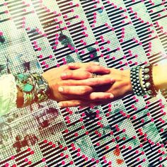Arm parties by Dannijo.  Every outfit benefits from an arm party.