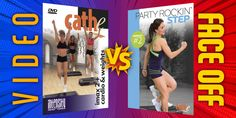 Cathe Video Face-Off: IMAX 2 vs Party Rockin' Step 2 #stepaerobicsworkout #stepaerobics‍ #stepaerobicsvideo #stepaerobicstime #stepaerobicsroutine #stepaerobicslovers #stepaerobicslover #stepaerobicsinstructors #stepaerobicsinstructor #stepaerobicsfun #stepaerobicsforlife #stepaerobicscombo #stepaerobicsclasses #stepaerobicsclass #stepaerobicsathome #stepaerobicsadvance #stepaerobicsaddicts #stepaerobicsaddict #cathe #cathefriedrich Step Aerobics, Aerobics Classes, Cathe Friedrich, Step Workout, Face Off, Workout Videos, At Home Workouts, Cardio, Fit Women