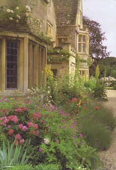 Asthall Manor, Asthall, Oxfordshire.  just a little country cottage. Miss Marple and the vicar are coming for tea!